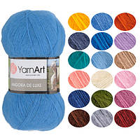 Пряжа YarnArt Angora De Luxe, оттенок согласно карте цветов