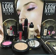 Набр косметики МАС 8in1 LOOK IN A BOX FASHION COLOR, фото 2