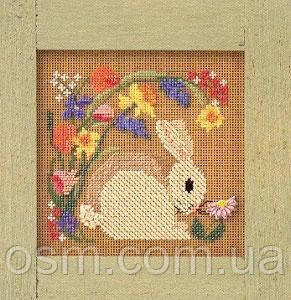 Набор для вышивки Mill Hill Blooming Bunny (1999)