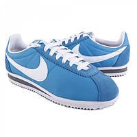 Кроссовки женские Nike Cortez Nylon синего цвета
