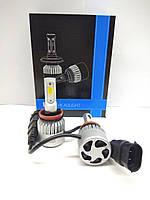 Комплект автоламп  LED  S2 COB, H9, 8000LM, 72W, 12-24V