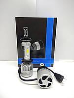 Комплект Автоламп LED S2 COB, H7, 8000LM, 72W, 12-24V