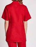 Женская медицинская блуза МИКО , батист, фото 5
