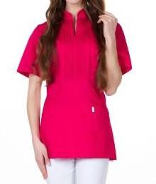 Женская медицинская блуза МИКО , батист