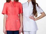Женская медицинская блуза МИКО , батист, фото 4