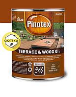 Масло для пропитки древесины Pinotex наружные работы Terrace Wood Oil 1л