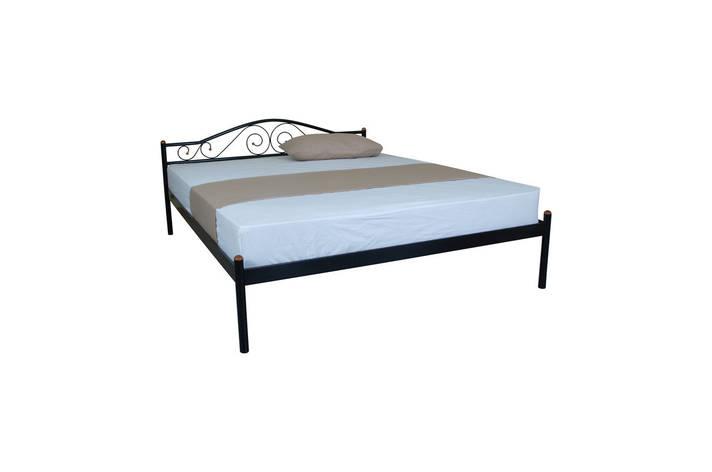 Кровать Элис двуспальная  200х180, бордовая, фото 2