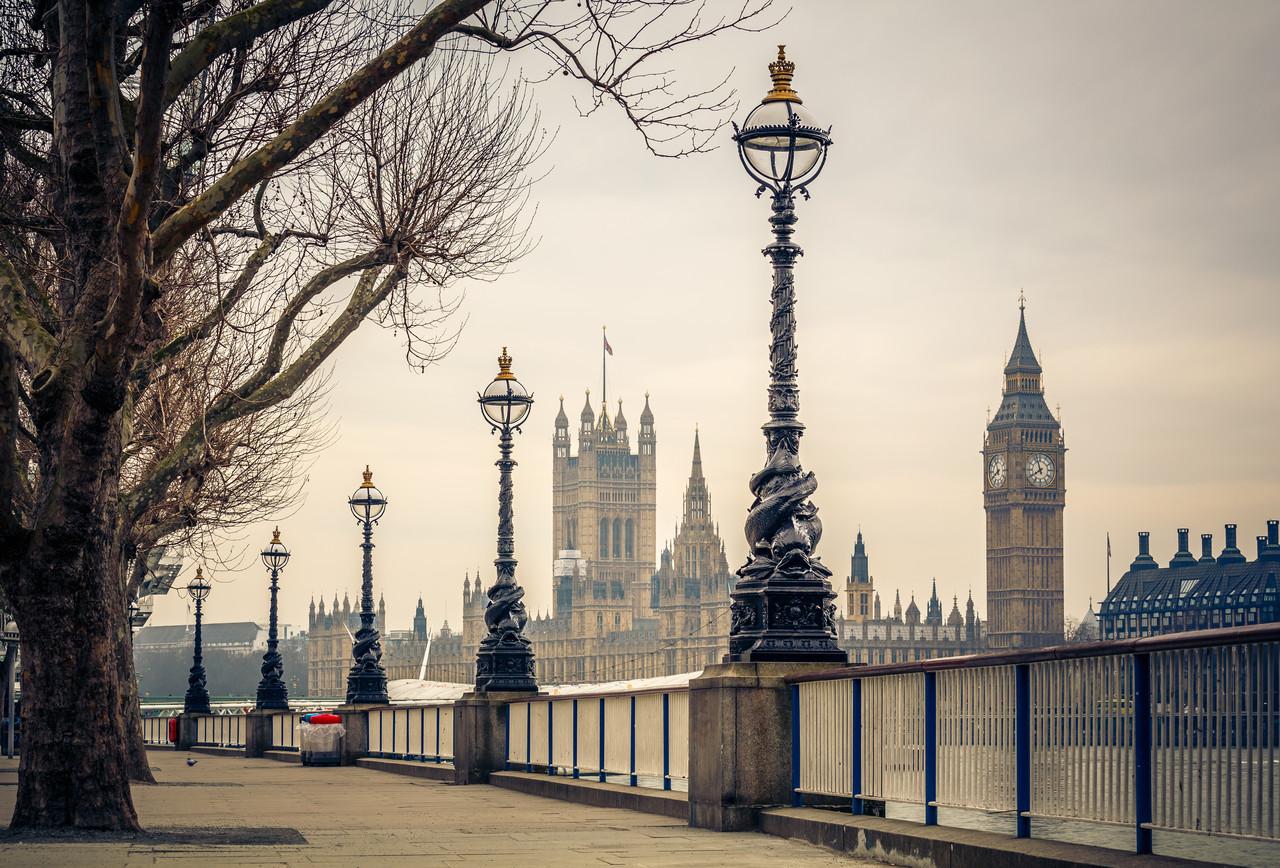 Виниловые фотообои Город Лондон
