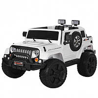Детский электромобиль Джип «Jeep Wrangler» M 3445EBLR-1 Белый