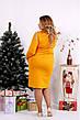 Женское стильное платье большие размеры 42-74, фото 4