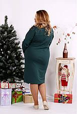 Женское стильное платье большие размеры 42-74, фото 2
