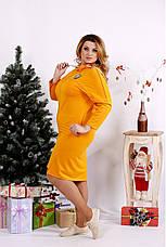 Женское стильное платье большие размеры 42-74, фото 3
