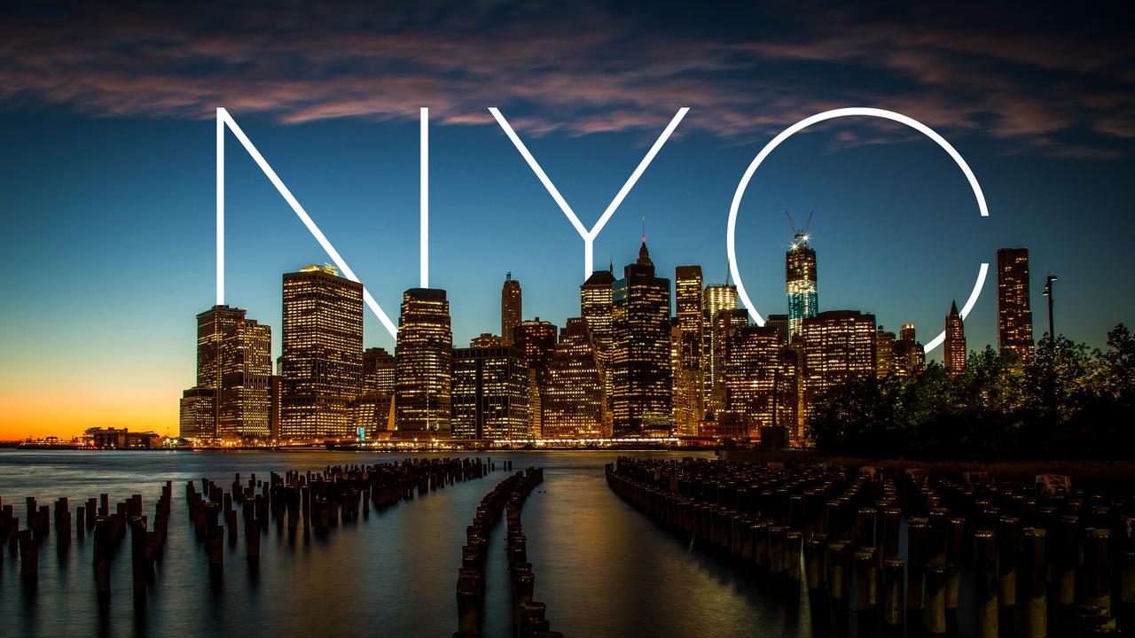 Виниловые обои Нью-Йорк