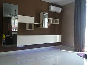 Меблі для вітальні під замовлення, будь-якої складності.