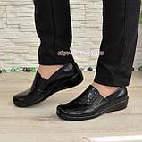 Туфли женские на утолщенной подошве, натуральная кожа, фото 2