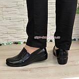 Туфли женские на утолщенной подошве, натуральная кожа, фото 3