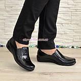 Туфли женские на утолщенной подошве, натуральная кожа, фото 4
