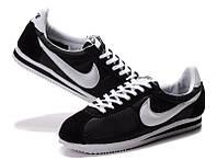 Nike Cortez кроссовки женские черного цвета, фото 1