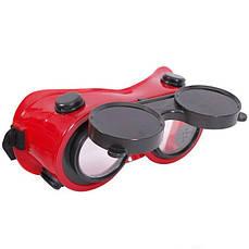 Очки сварщика, защита от УФ- и ИК-лучей INTERTOOL SP-0023