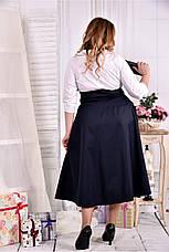 Нарядное офисное платье больших размеров 42-74, фото 3