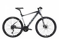 """Велосипед 27.5"""" LEON XC 70 HDD 2018 (серо-черный (м))"""