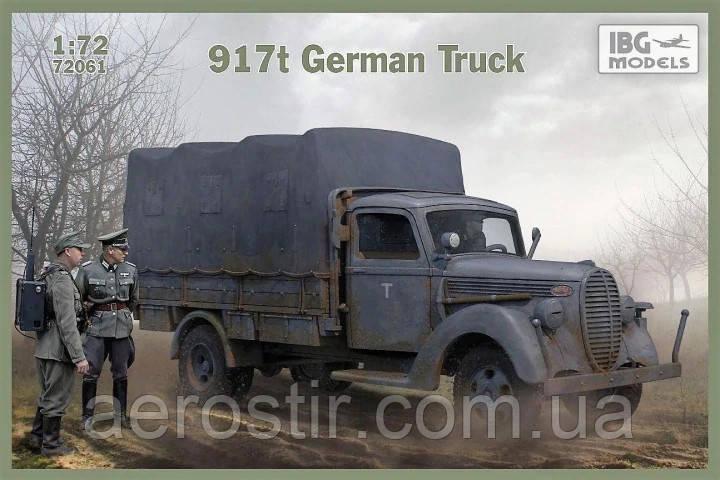 917t German Truck 1/72 IBG 72061