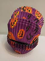 Форма бумажная для кексов Хэллоуин 100 шт., фото 1