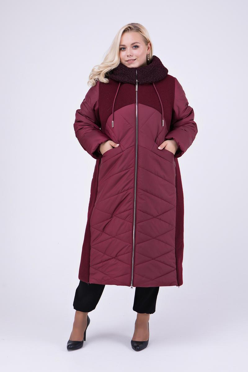 f8b54a436ea8 Зимнее комбинированное женское пальто: продажа, цена в Харькове. пальто  женские ...