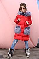 Пальто детское зимнее Полианна