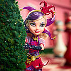 Кукла Mattel Ever After High Кортли Джестер Дорога в страну чудес  Courtly Jester Way Too Wonderland, фото 3