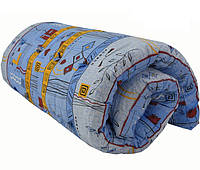 Матрас ватный цвет чехла в ассортименте 190х80х10, вес 9,0 кг