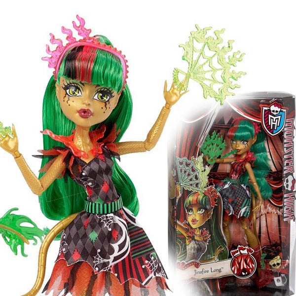 Кукла Монстер Хай Джинафаер Фрик ду Чик Monster High Freak du Chic Jinafire Long