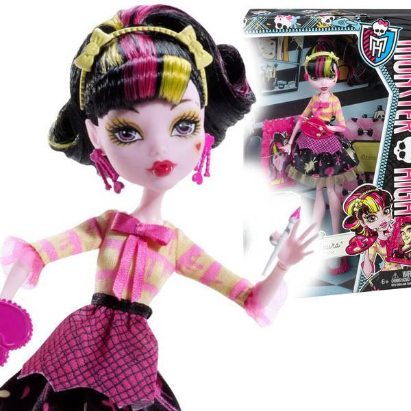 Кукла Monster High Draculaura Art Class Монстер Хай Дракулаура Арт Класс
