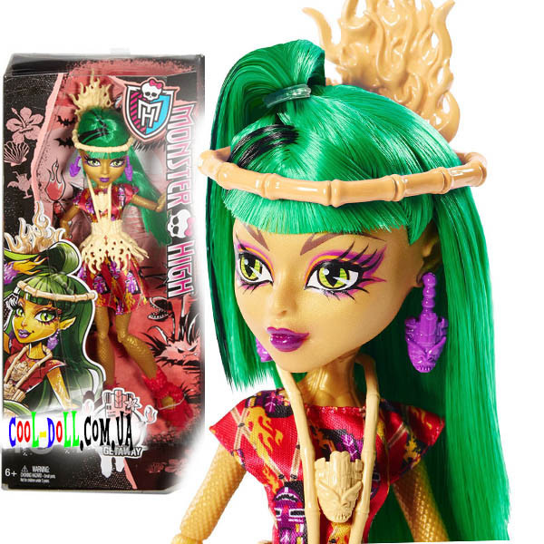 Кукла Monster High Ghouls' Getaway Jinafire Long  Кукла Джинафаер Лонг Монстры на отдыхе