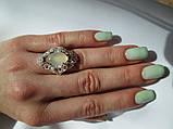 Срібне кільце з золотими накладками Джамала., фото 2