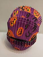 Форма бумажная для кексов Хэллоуин 50 шт., фото 1