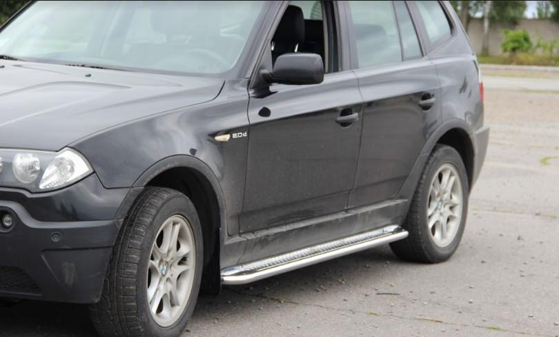 Пороги BMW X3 / БМВ X3 2004-2006, фото 1