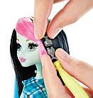 Monster high Фрэнки Штейн высоковольтная причёска - Frankie Stein Voltageous Hair Монстер Хай, фото 3