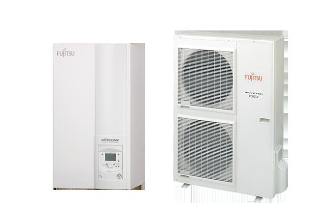 Тепловий насос Fujitsu спліт-система серії HIGH-POWER без ГВС WSYG140DG6 / WOYG112LHT