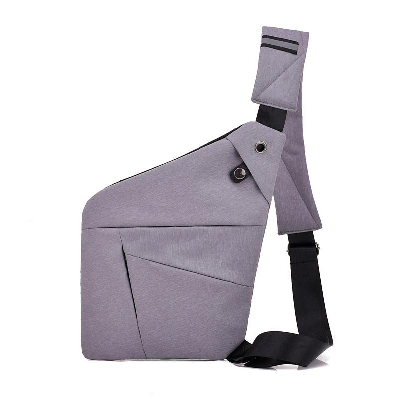 Сумка-Мессенджер Cross Body Bag 2 СВЕТЛО-СЕРАЯ