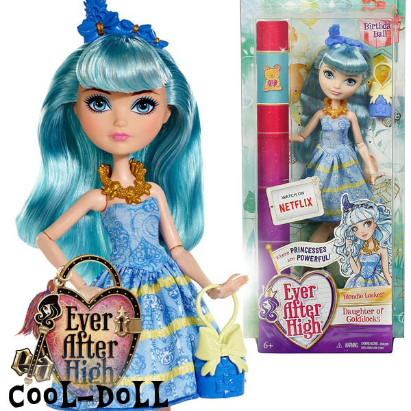 Ever After High Birthday Ball Blondie Lockes Блонди Локс Эвер Афтер Хай Блонди Локс Балл к Дню рождения