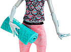 Кукла Monster High Фантастический фитнес Лагуна Fangtastic Fitness Lagoona Blue, фото 6