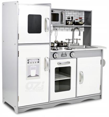 Деревянная кухня Sapphire Kids SK-06 + металлические аксессуары 83 см