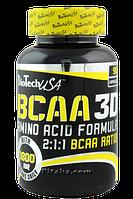 Аминокислоты BioTech - BCAA 3D (180 капсул)