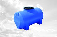 Пластиковые емкости (баки) горизонтальные круглые от 85 до 5000 л