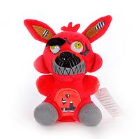 Мягкая игрушка 5 ночей с Фредди Фантом Кошмарный Фокси 15 см,  Аниматроники.