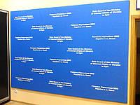 Рекламный стенд для пресс центра