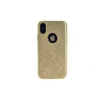 "Накладка iPhone Х ""Shine"" Золотая"