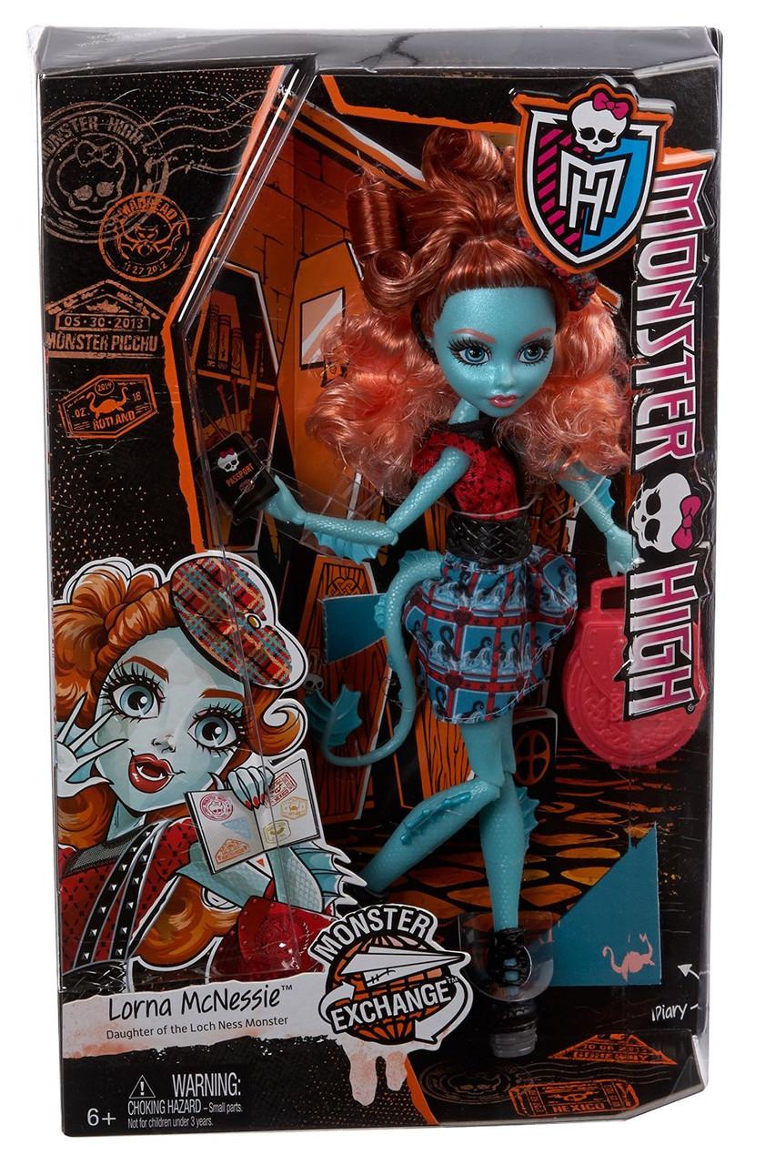 Кукла Монстер Хай Лорна МакНесси Монстры по обмену Monster High Lorna McNessie Monster Exchange