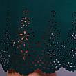 Платье женское зеленое плюс сайз большие размеры: 66, 68, фото 5